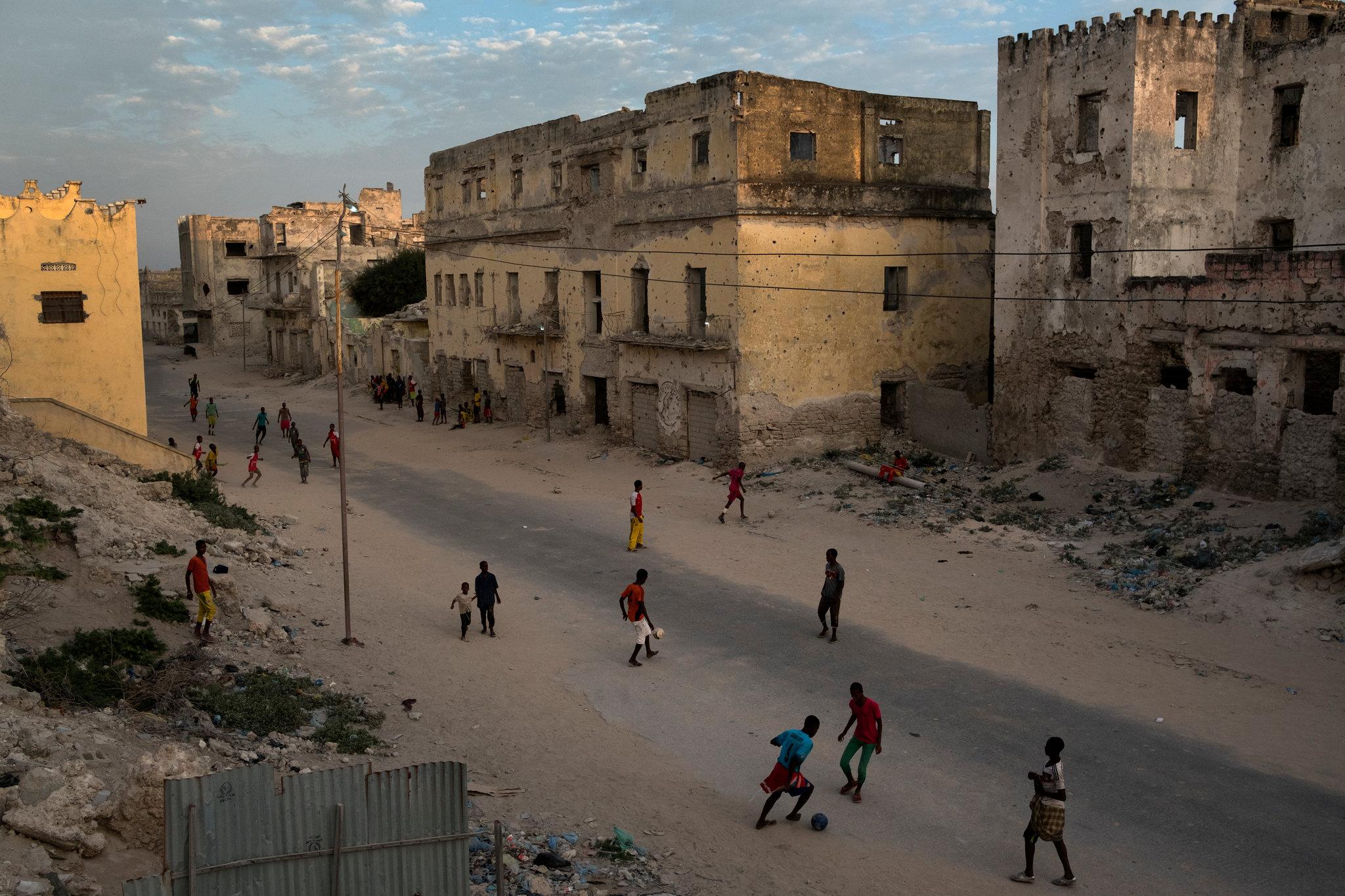 Somalia Mogadiscio estado fallido