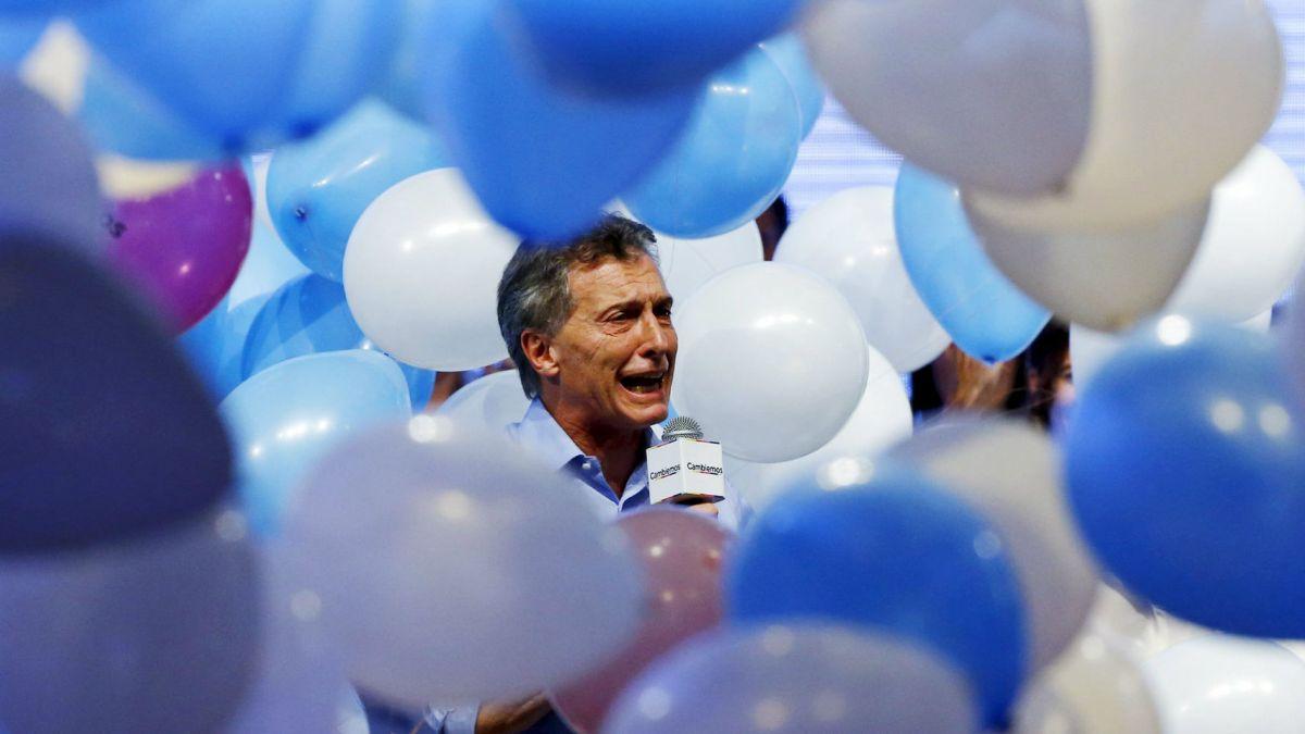 Mauricio Macri, presidente de una Argentina dividida