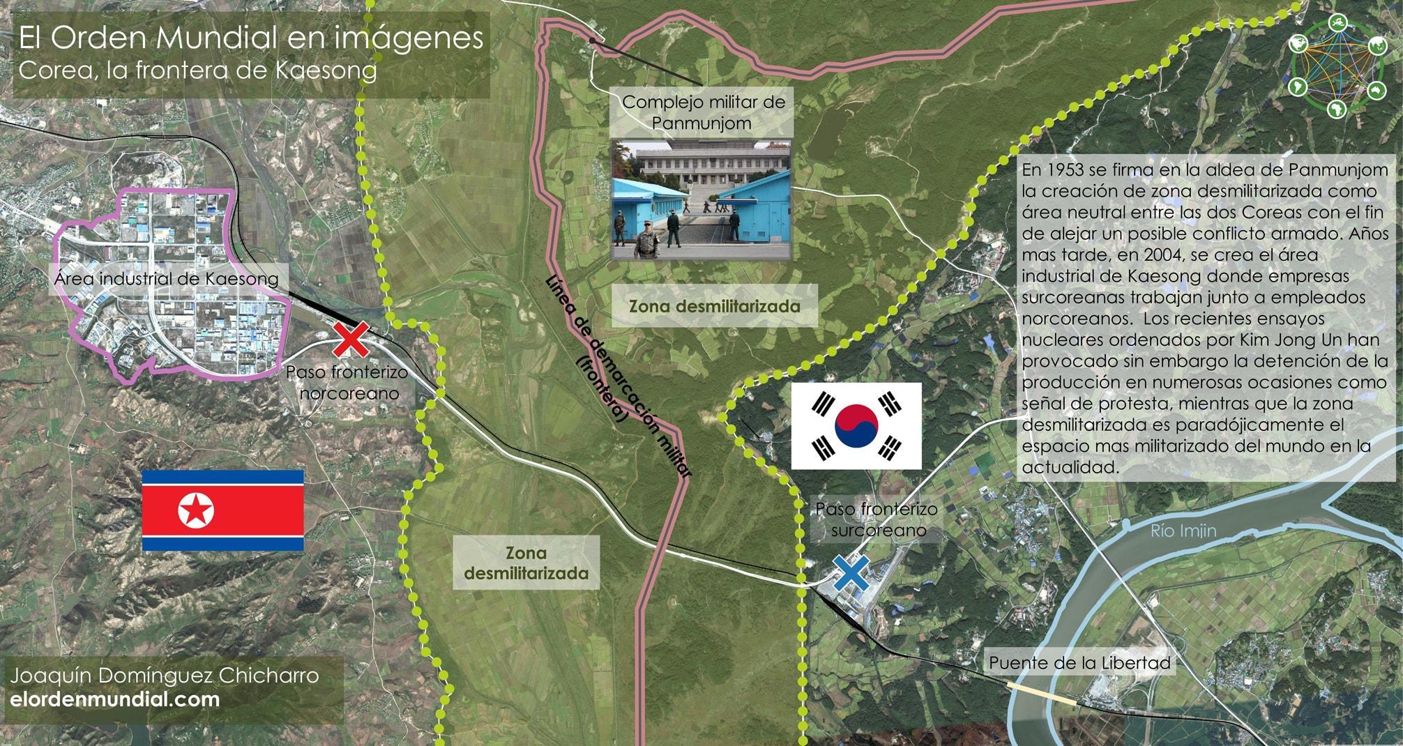 Imagen Corea Frontera Zona Desmilitarizada Kaesong