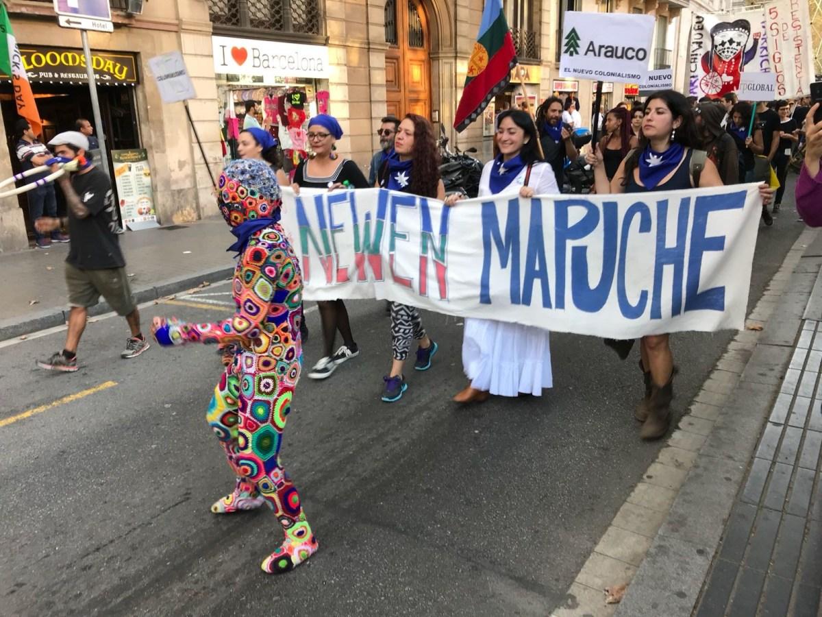 La liberación mapuche