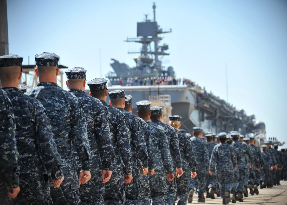 La Marina estadounidense: de providencia a estrategia