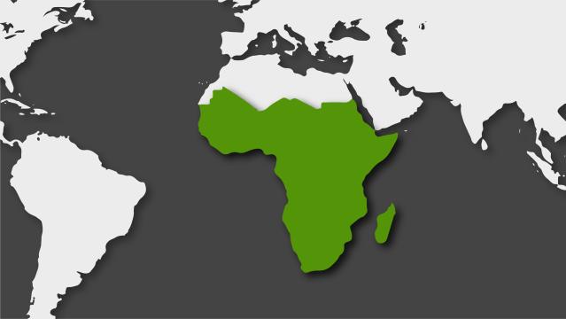 África subsahariana en 2019