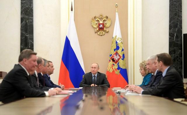 El Consejo de Seguridad y los siloviki en la Federación Rusa