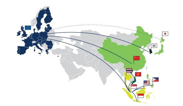 El giro de la Unión Europea hacia Asia