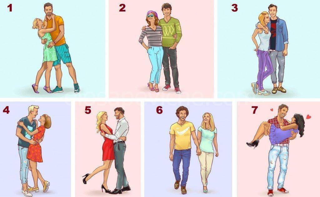 Scegli la coppia che pensi sia la più felice e scopri di più sulla tua storia d'amore
