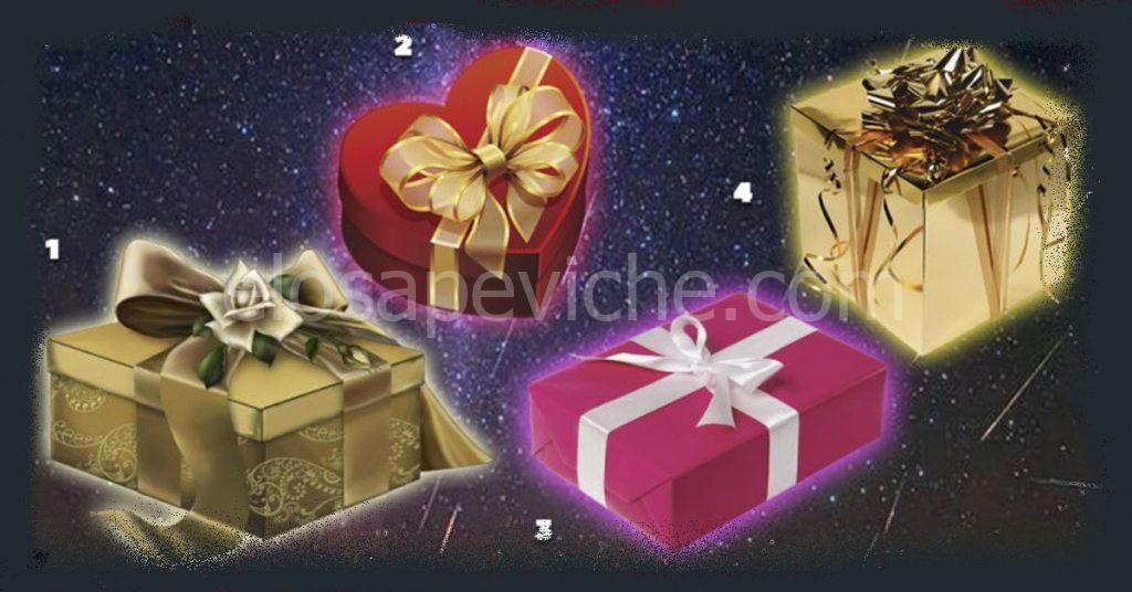 Scegli un dono e scopri cosa nasconde la tua scelta: