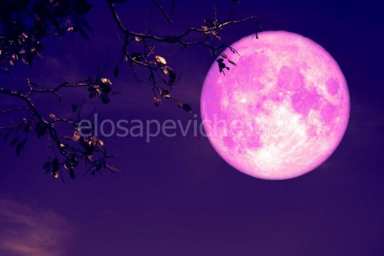 """È in arrivo la """"luna di fragola"""", sarà bellissima e visibile in tutta Italia"""