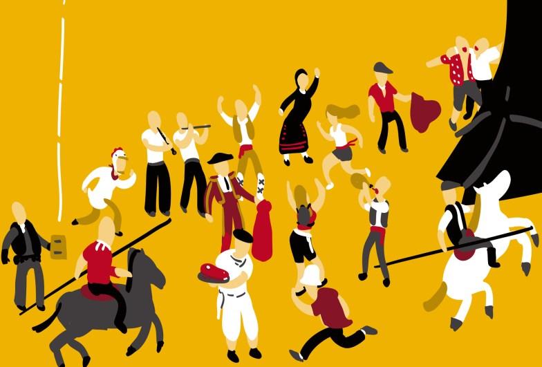 Fiestas de San Juan - Cartel (detalle 2)