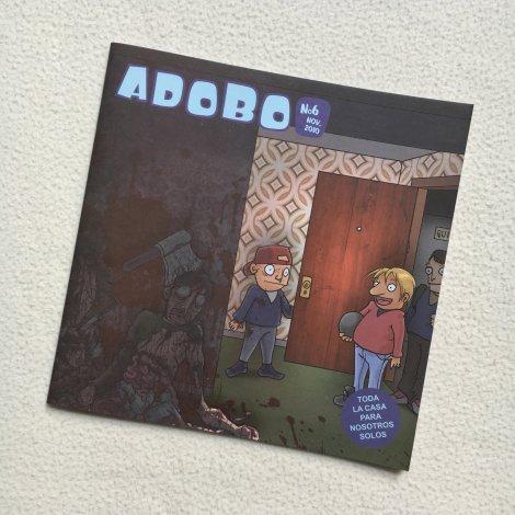 Adobo Fanzine 6 - portada
