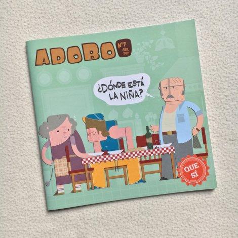 Adobo Fanzine 7 - portada