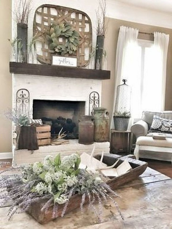 15 Modern Farmhouse Living Room Design Ideas 13