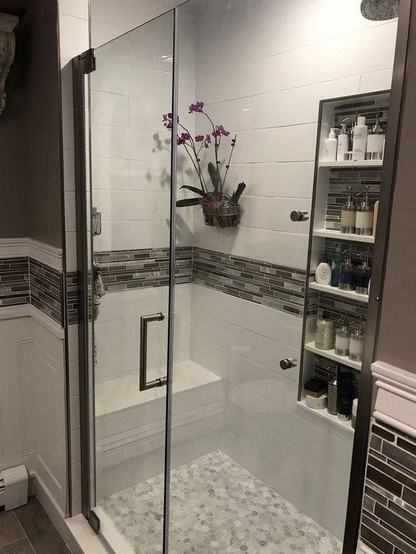 18 Fresh And Stylish Small Bathroom Remodel Add Storage Ideas 14