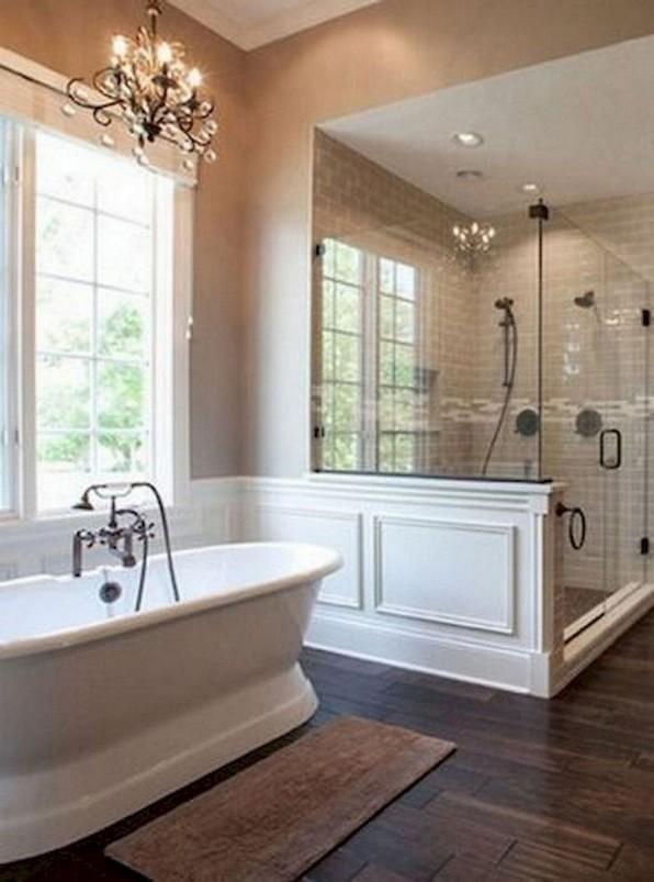 18 Good Small Master Bathroom Remodel Ideas 08