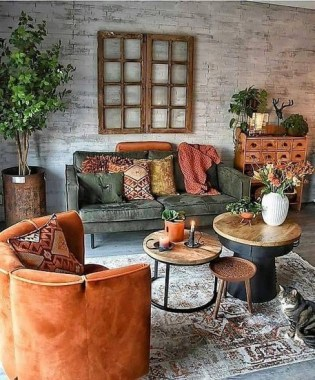 19 Beautiful Farmhouse Coffee Table Design For Living Room 16