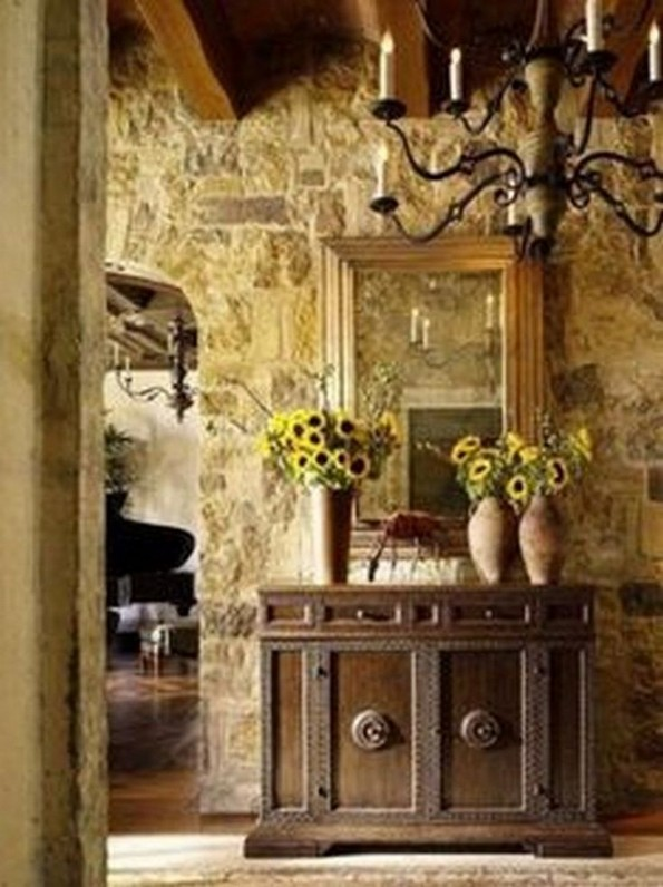 14 Amazing Rustic Italian Farmhouse Decor 26