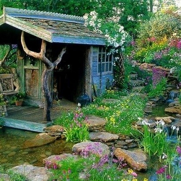 14 Beautiful Whimsical Backyard Ideas On Pinterest 30