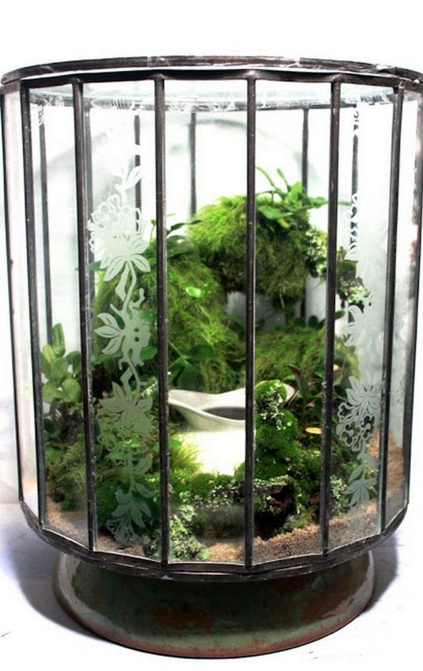 15 Brilliant And Creative DIY Nano Pond Garden Combination 14