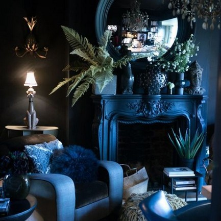 15 New Exotic Dark Boho Room Decor 25
