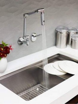 16 Amazing Modern Kitchen Sink Ideas 09 1