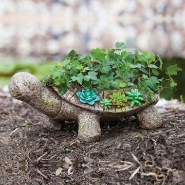 16 Creative DIY Succulent Turtle Tutorial 21