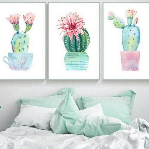 16 Creative And Beautiful Cactus Room Decor 27