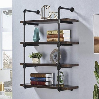16 Floating Curved Glass Shelves Perfect For Storing Your Belongings 08