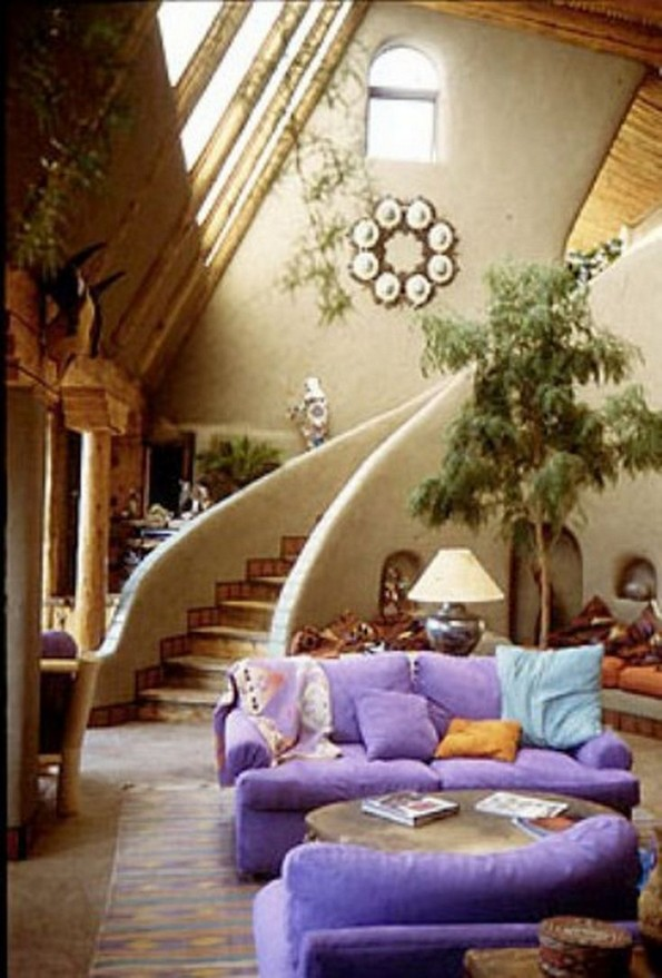 17 Amazing Greenhouse Earthship Home Design Made Of Recycled 26