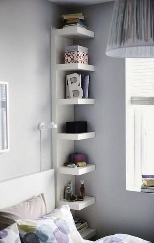 17 Incredible IKEA Bedroom Shelves And Storage Ideas 27