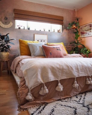 17 Popular Modern Bohemian Bedrooms Ideas 07