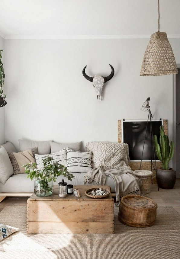 17 Rustic And Cozy Boho Cabin Makeover On A Budget 21
