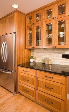 17 Stylish Rustic Kitchen Cabinet Design Ideas 19