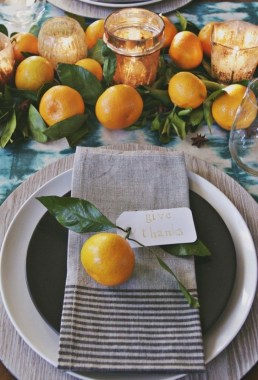 18 Beautiful DIY Thanksgiving Table Setting Design 05