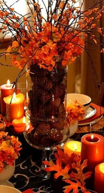 18 Beautiful DIY Thanksgiving Table Setting Design 10