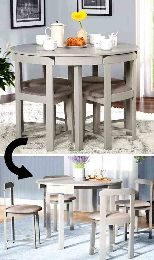 18 Stylish Folding Furniture Pieces For Small Spaces 05