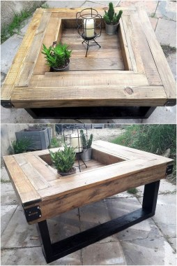 15 Classy DIY Wood Tables Ideas For Outdoor 02
