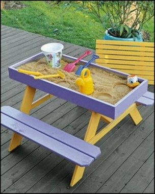 15 Classy DIY Wood Tables Ideas For Outdoor 09