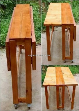15 Classy DIY Wood Tables Ideas For Outdoor 15