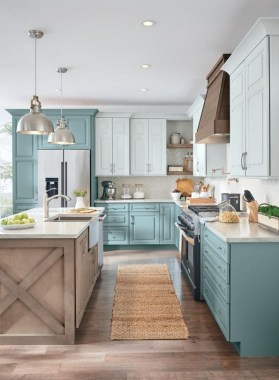 16 Amazing Modern Farmhouse Kitchen Design Ideas To Blend Modern And Classic Theme 02