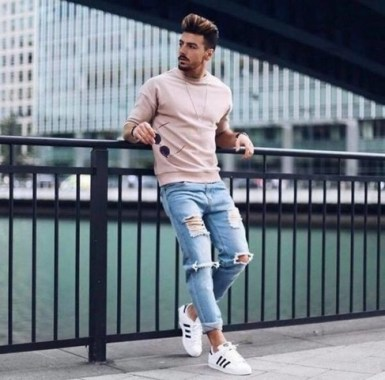 16 Chic Spring And Summer Men Outfits Ideas With Jeans To Try 16