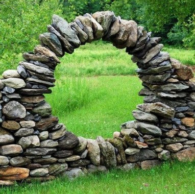 17 Good Stone Moon Gate Ideas 23