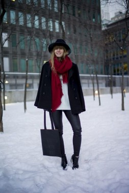 17 Hottest Winter Outfits Ideas With Scarf That Adds To Your Beauty 09