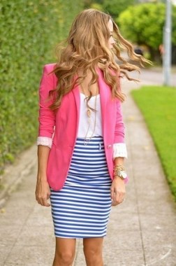 18 Impressive Pink Work Outfits Ideas For Girls 08