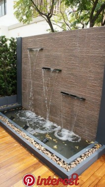 19 Amazing Water Features Design Ideas On A Budget Best For Garden And Backyard 08