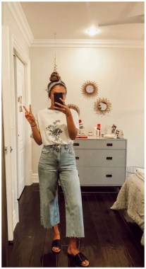 19 Latest Jeans Outfit Ideas For Spring And Summer 18