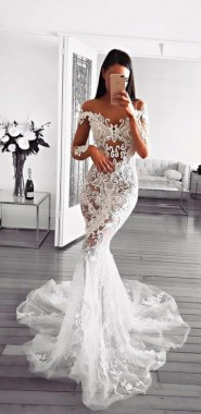 19 Unique Sleeve Wedding Dress Trends Ideas For 2019 13