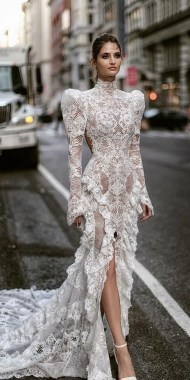19 Unique Sleeve Wedding Dress Trends Ideas For 2019 24