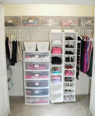 20 Beautiful First Apartment Storage Organization Ideas 14