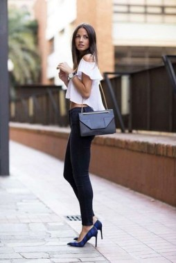 20 Unordinary Women Black Jeans Outfits Ideas For Spring And Summer In 2019 10