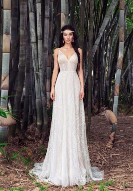 21 Charming Boho Chic Wedding Dresses Ideas 15