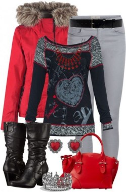 17 Beautiful Polyvore Outfits Ideas For Valentine'S Day 09